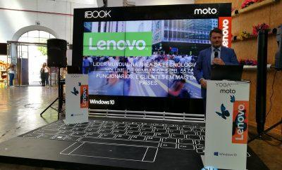 Apresentação Lenovo YOGA Book