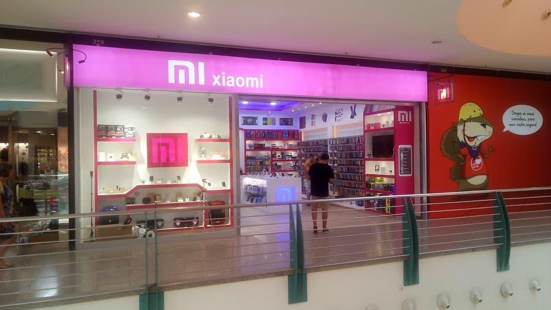 Loja Xiaomi no Gaia Shopping. Fonte: Aberto até de Madrugada