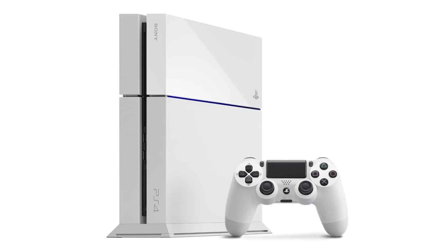 Sony anuncia Playstation 4 Slim branco na Europa e Japão