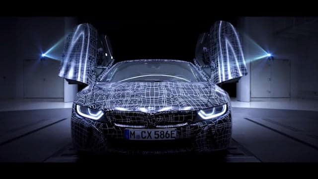 BMW revela primeiras imagens do futuro i8 Roadster