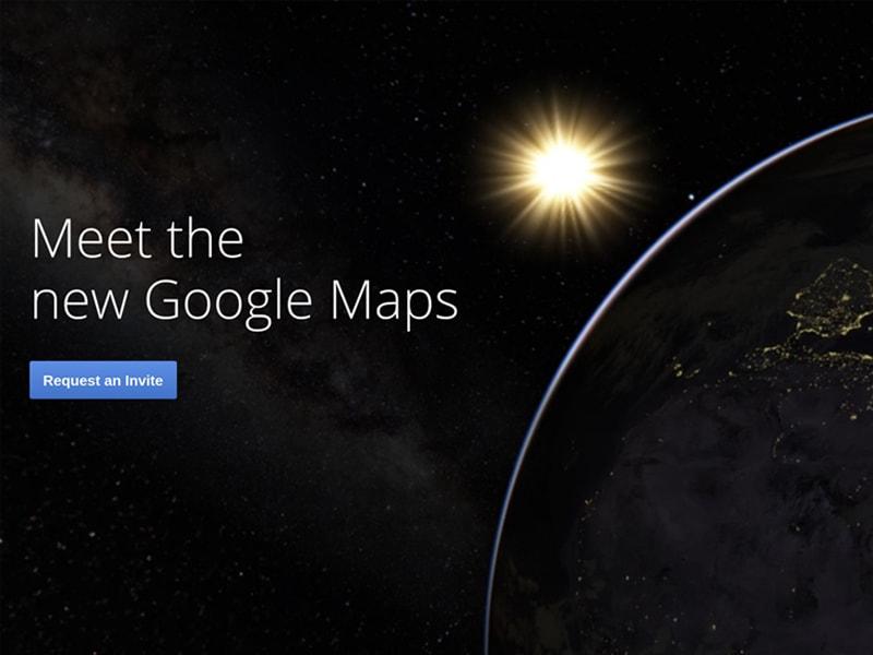 Google Maps ganha novas cores e ícones