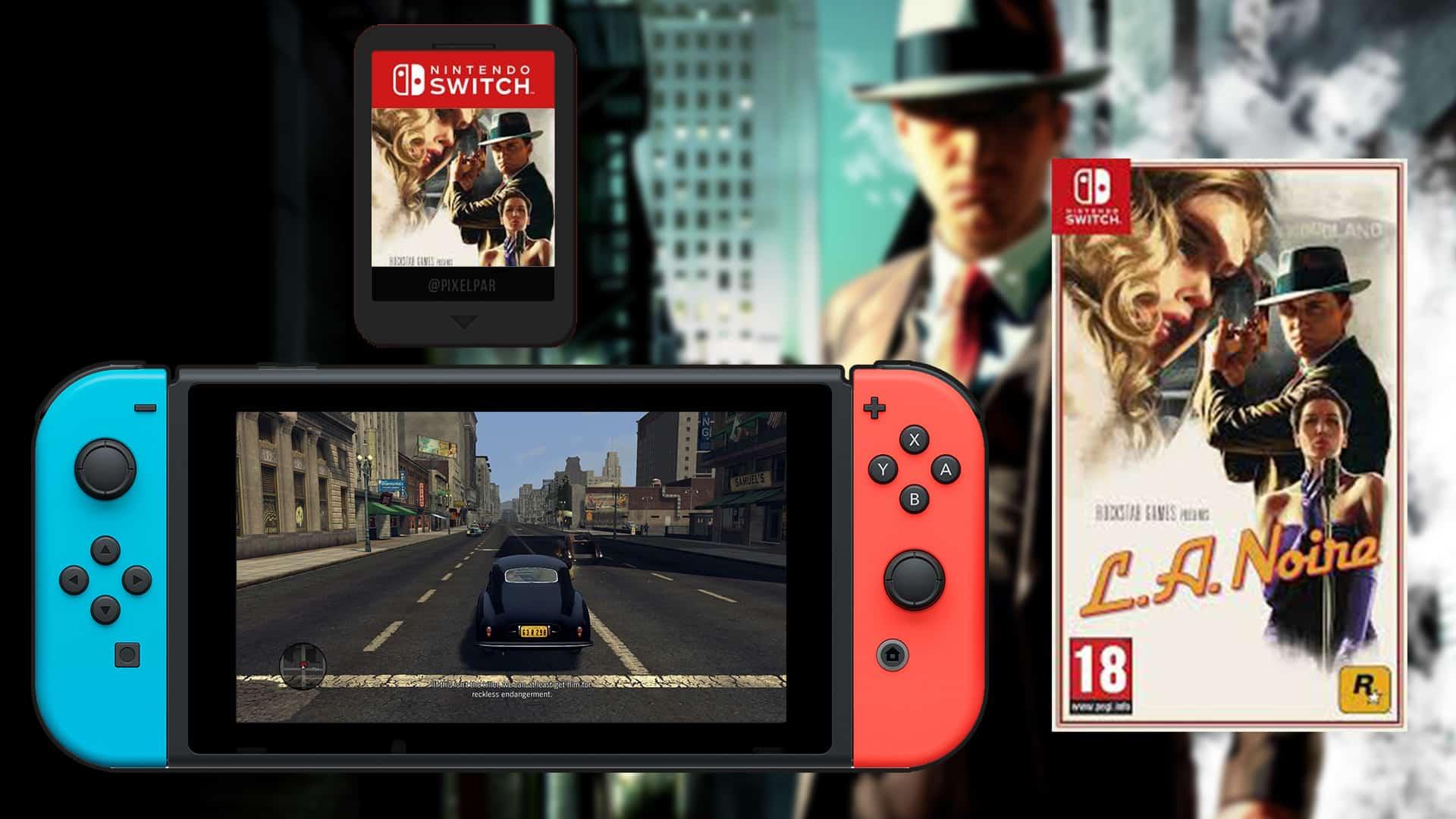 Pensando em adquirir LA Noire no Switch? Recomendamos um cartão micro SD