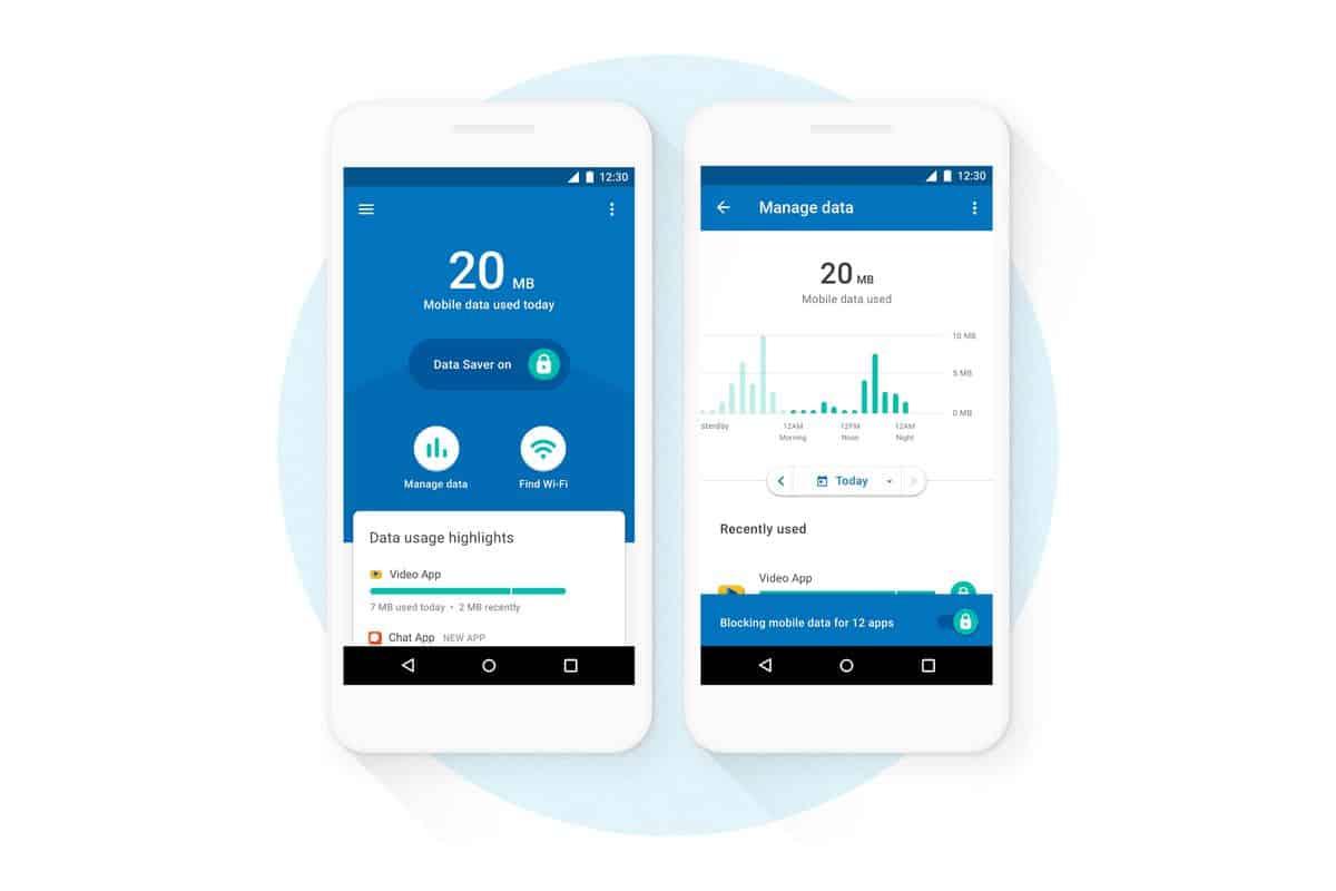 0d2403131c0ad A Google lançou há pouco mais de um mês a aplicação para smartphones  Datally. Inicialmente o propósito deste software era o de poupar nos dados  móveis