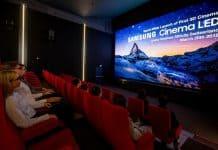 Samsung 3D LED cinema