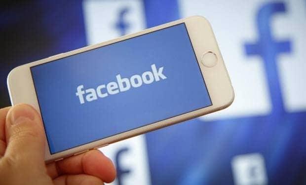 aplicação Facebook
