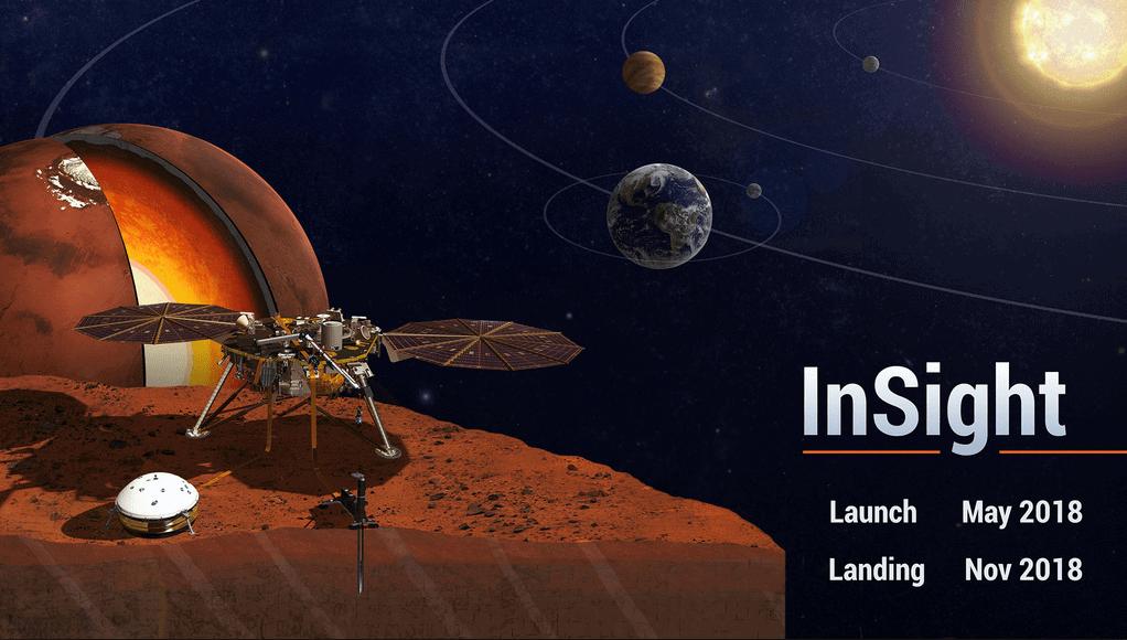 Sonda InSight lançada na Califórnia com destino a Marte