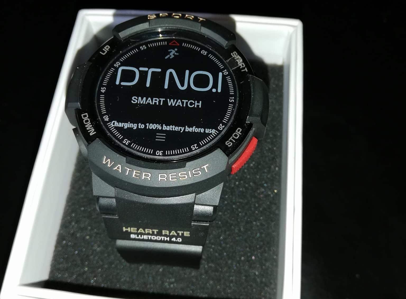 Análise: Smartwatch NO.1 F6, um relógio para desporto ...