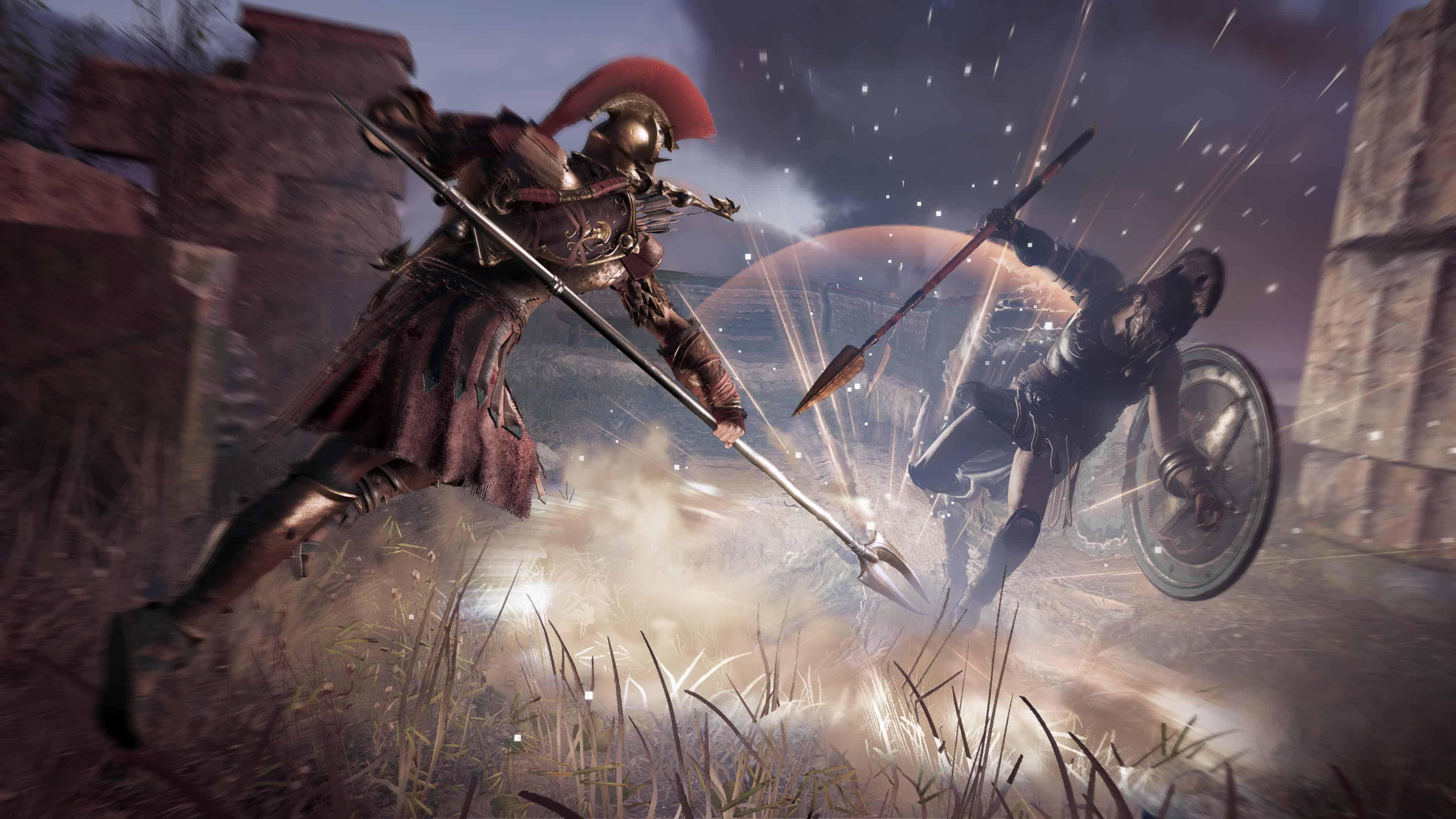 In-game footage. Cenário realizado no Assassin's Creed Odyssey