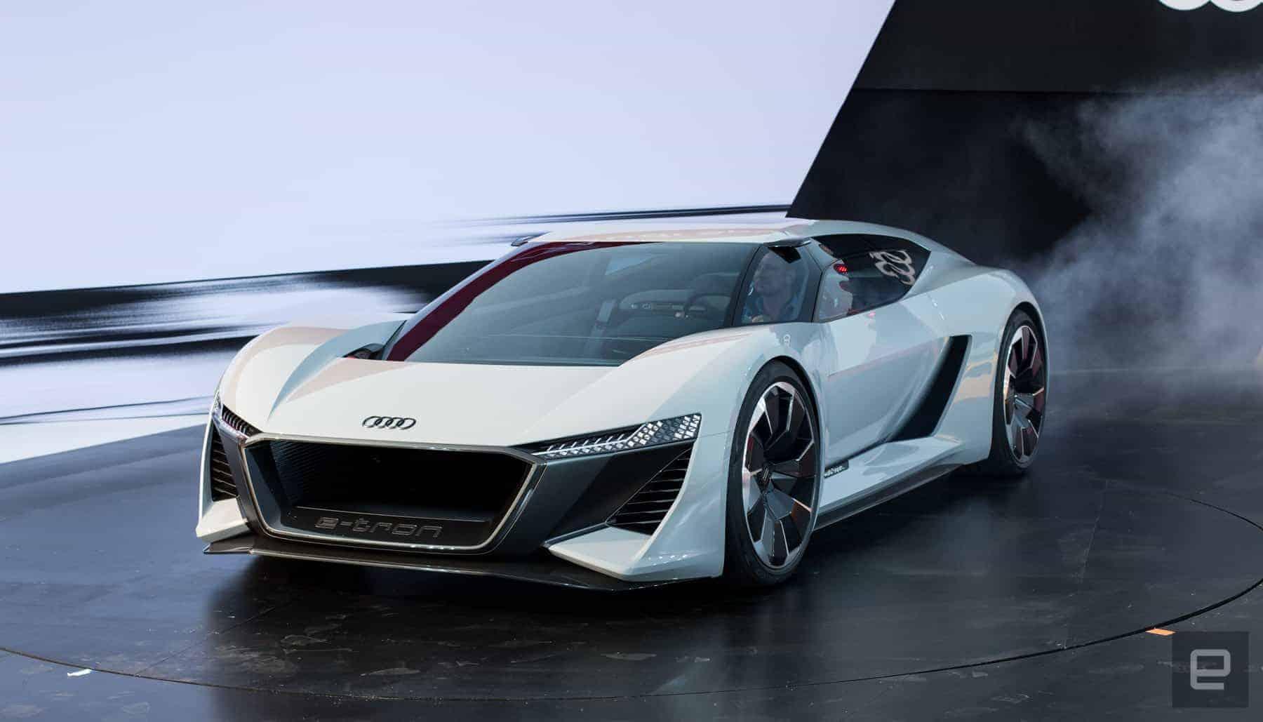 Concept do Audi e-Tron PB 18 (dianteira)