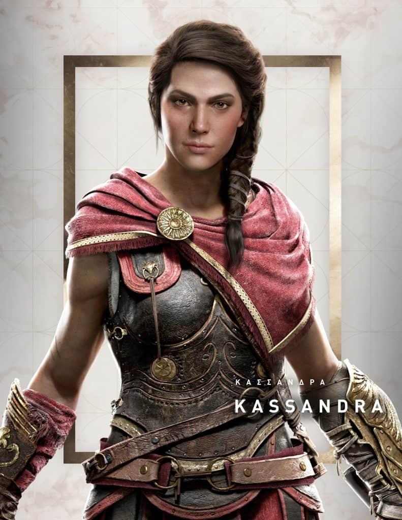 Personagem feminina do Assassin's Creed Odyssey