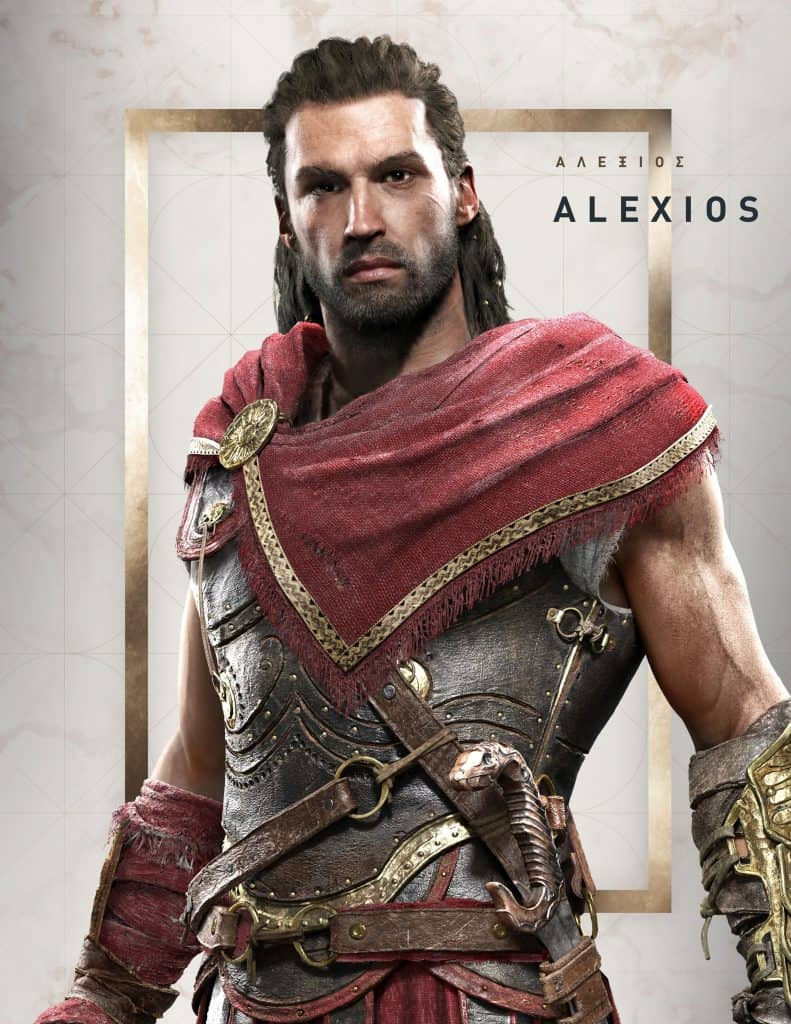 Personagem masculina do Assassin's Creed Odyssey