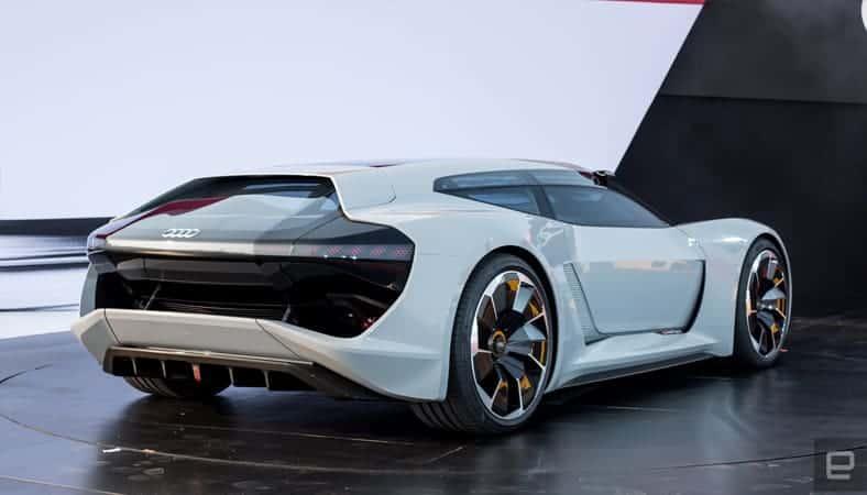 Concept do Audi e-Tron PB 18 (traseira)