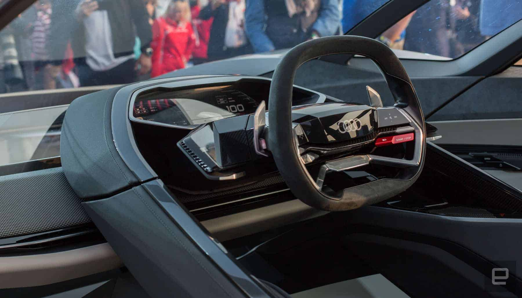 Concept do Audi e-Tron PB 18 (interior)