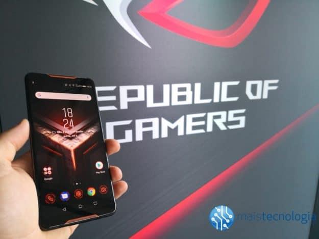 Asus ROG Phone Primeiras impressões: Uma máquina de gaming (Vídeo)