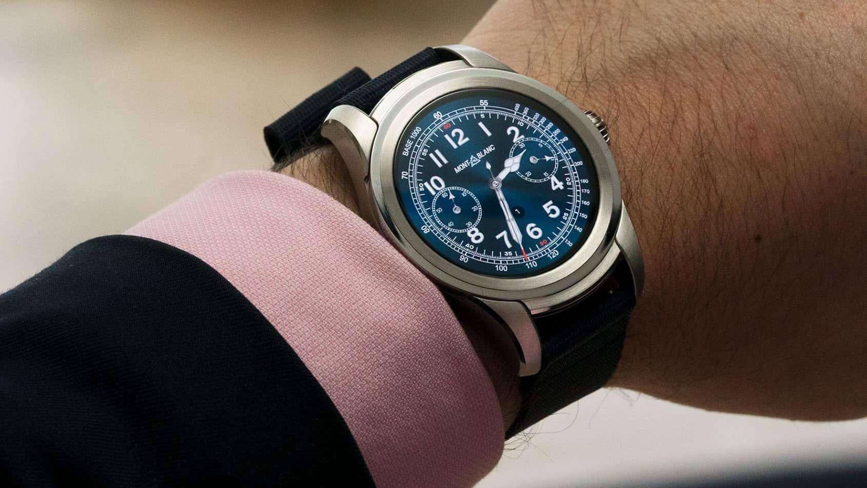1008750657f O foco em relógios inteligentes de luxo não é uma novidade nem para a  Qualcomm nem para o Wear OS