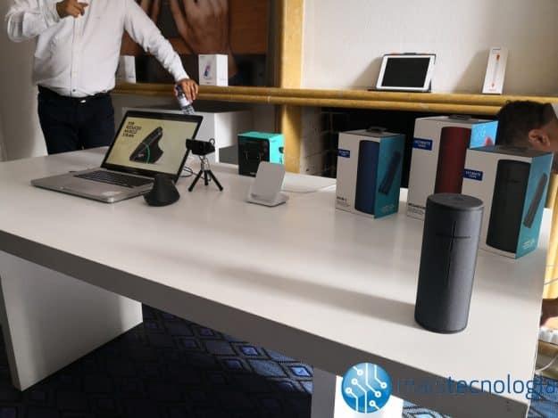 Evento Logitech: novos BOOM's, Pencil para iPad, ratos e teclados