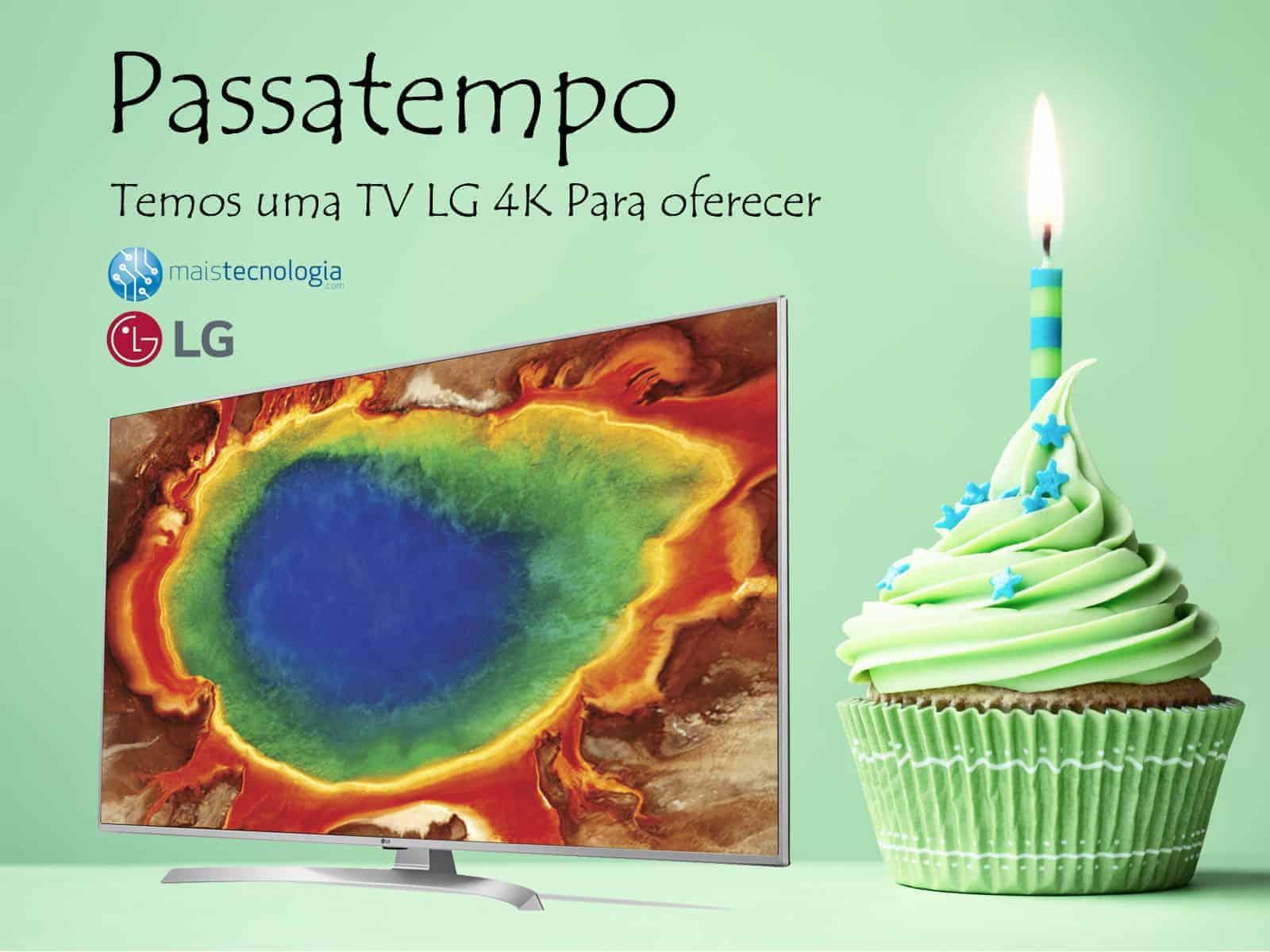 Passatempo TV LG 4K de 43 polegadas - 09/11 - MaisTecnologia Passatempo-LG-TV-4K