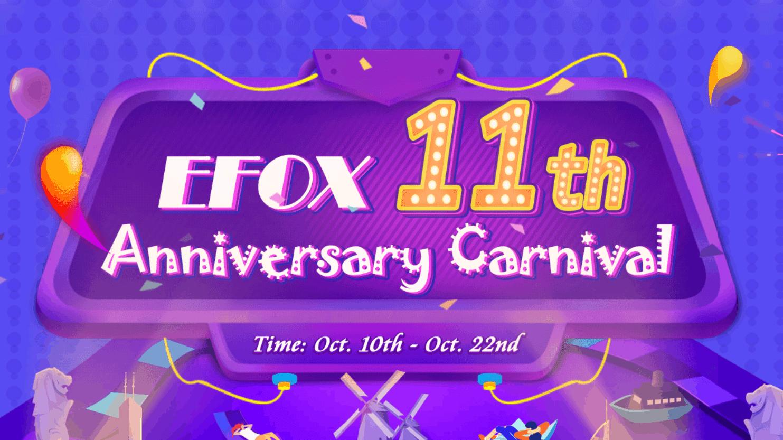 877ea8521 A loja online EFOX festeja os seus 11 anos com promoções em centenas de  produtos