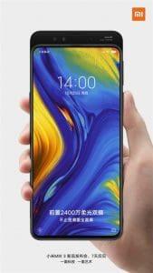 Xiaomi Mi Mix 3 terá câmeras frontais duplas
