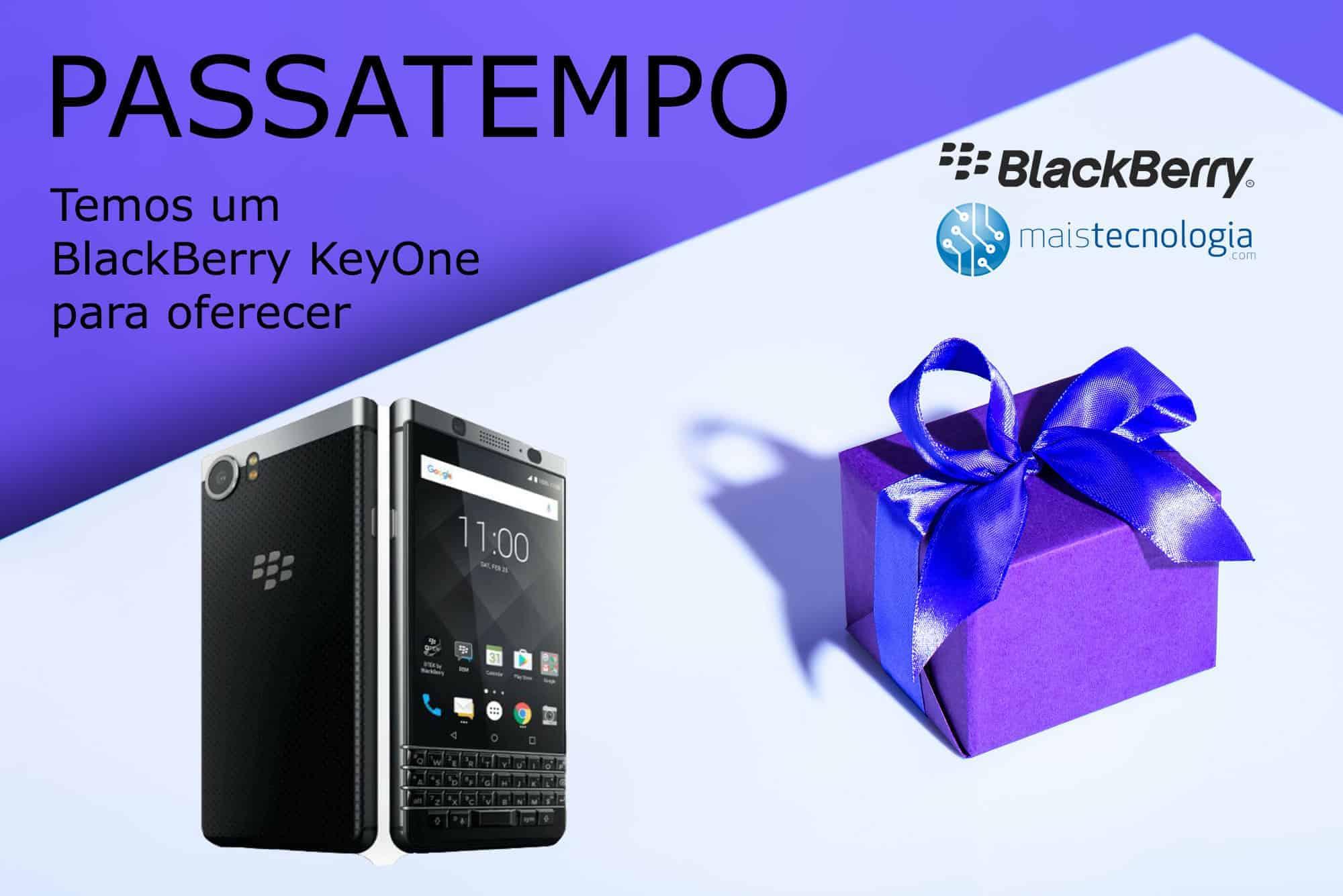 Passatempo smartphone BlackBerry KeyOne - 11/12 - MaisTecnologia Passatempo-BlackBerry-Keyone