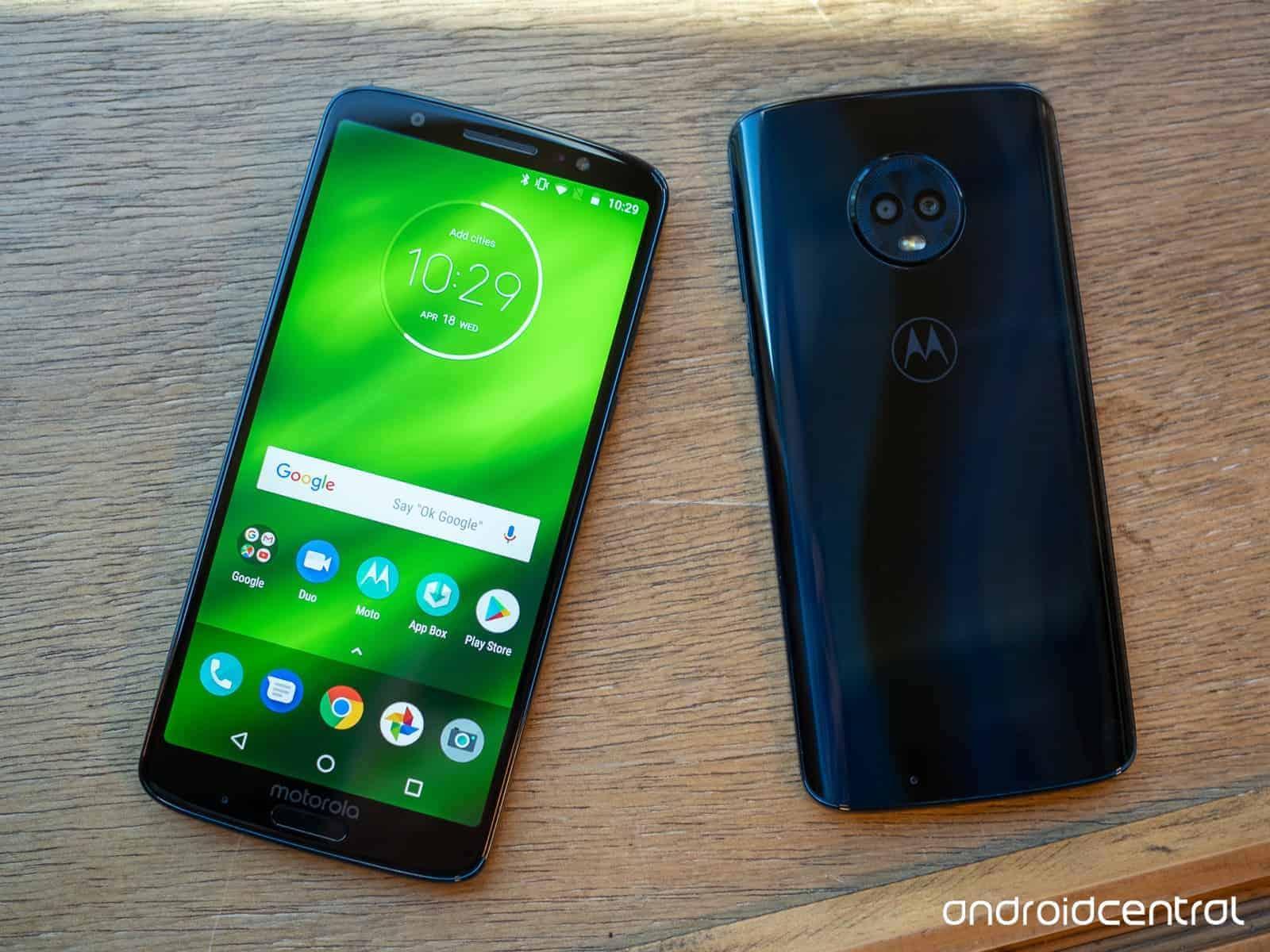 89ff6fc2b Motorola Moto G6 Plus está a receber a atualização para o Android ...