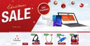 Promoção de Natal com a Geekbuying: Ganhe presentes com as suas compras