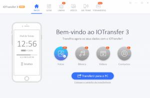 IOTransfer 3: gestor para o seu dispositivo Apple e faz download de vídeos do YouTube