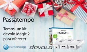 Passatempo 10 anos: Temos um Kit Devolo Magic 2 para oferecer