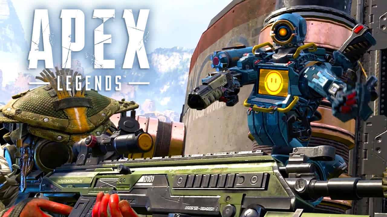 The most popular legends in Apex Legends
