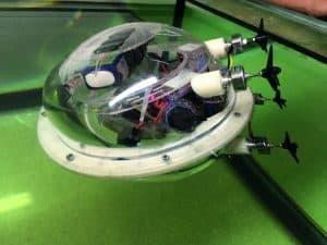 Robô explorador para minas submersas desenhado em Portugal