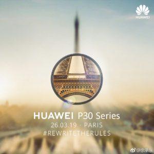 A apresentação do Huawei P30 e Huawei P30 Pro está a começar! Acompanhe Aqui