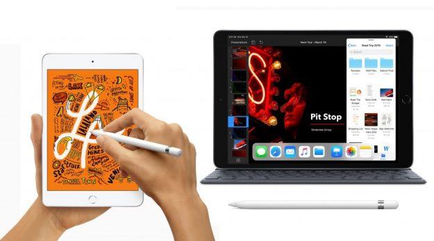 Apple lança novos iPad Air 2019 e iPad mini 2019