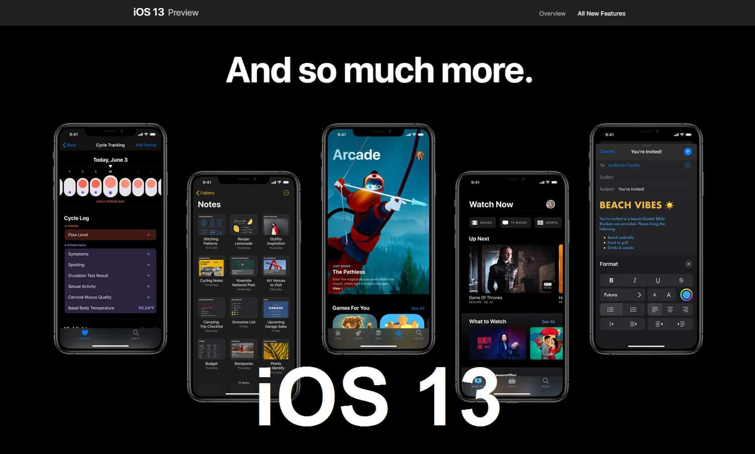 Be careful when upgrading to iOS 13… Problems may arise