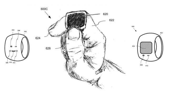 Apple Files Patent for Possible Smart Electronic Ring
