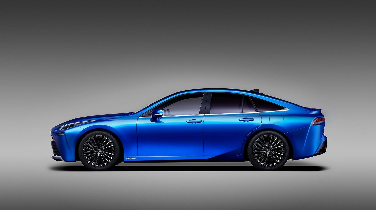 Toyota debuts in Tokyo the second generation Concept of the Mirai powered by ...