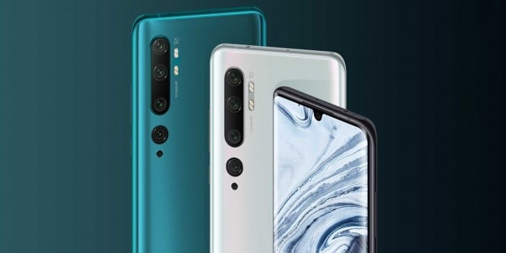 Xiaomi Mi Note 10 is official: it is the international version of the Mi CC9 Pro with 5 ...
