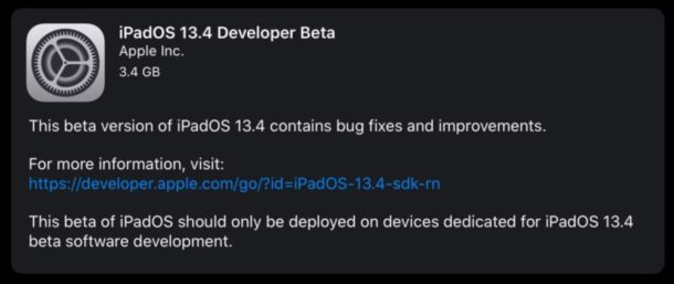 Beta 1 of iOS 13.4, iPadOS 13.4, macOS 10.15.4 made available for testing