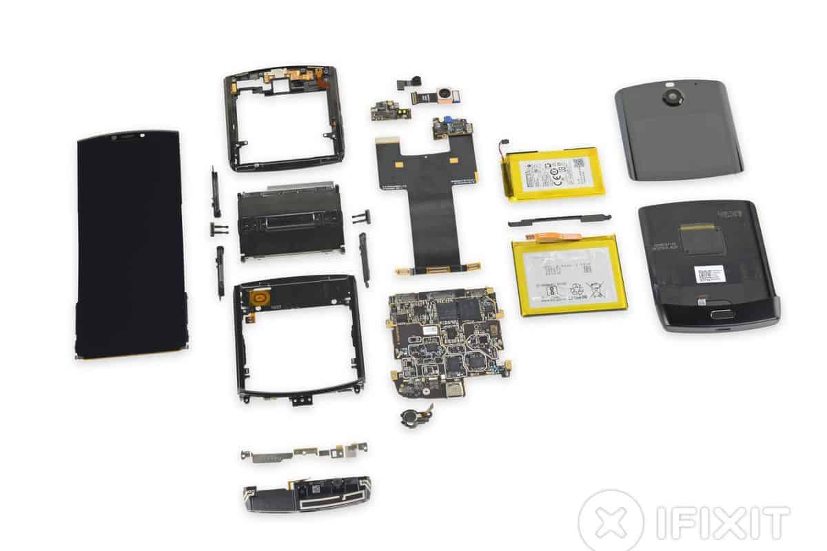 iFixit has already taken apart the Motorola Razr and there is no good news!