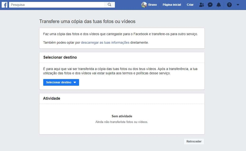 Facebook launches tool to transfer photos and videos to Google ...