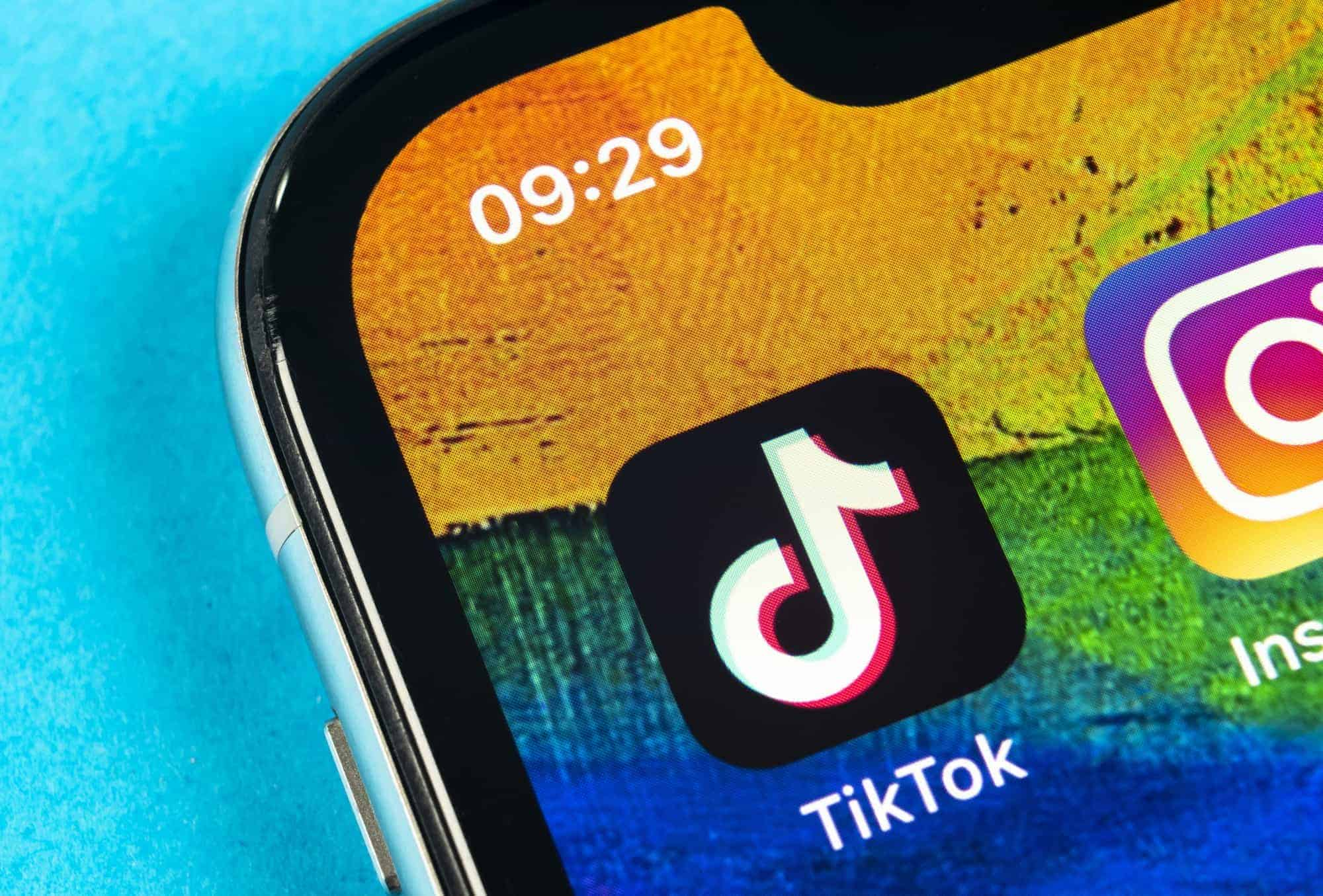 TikTok has released an update that would prevent the application from accessing the areas of...