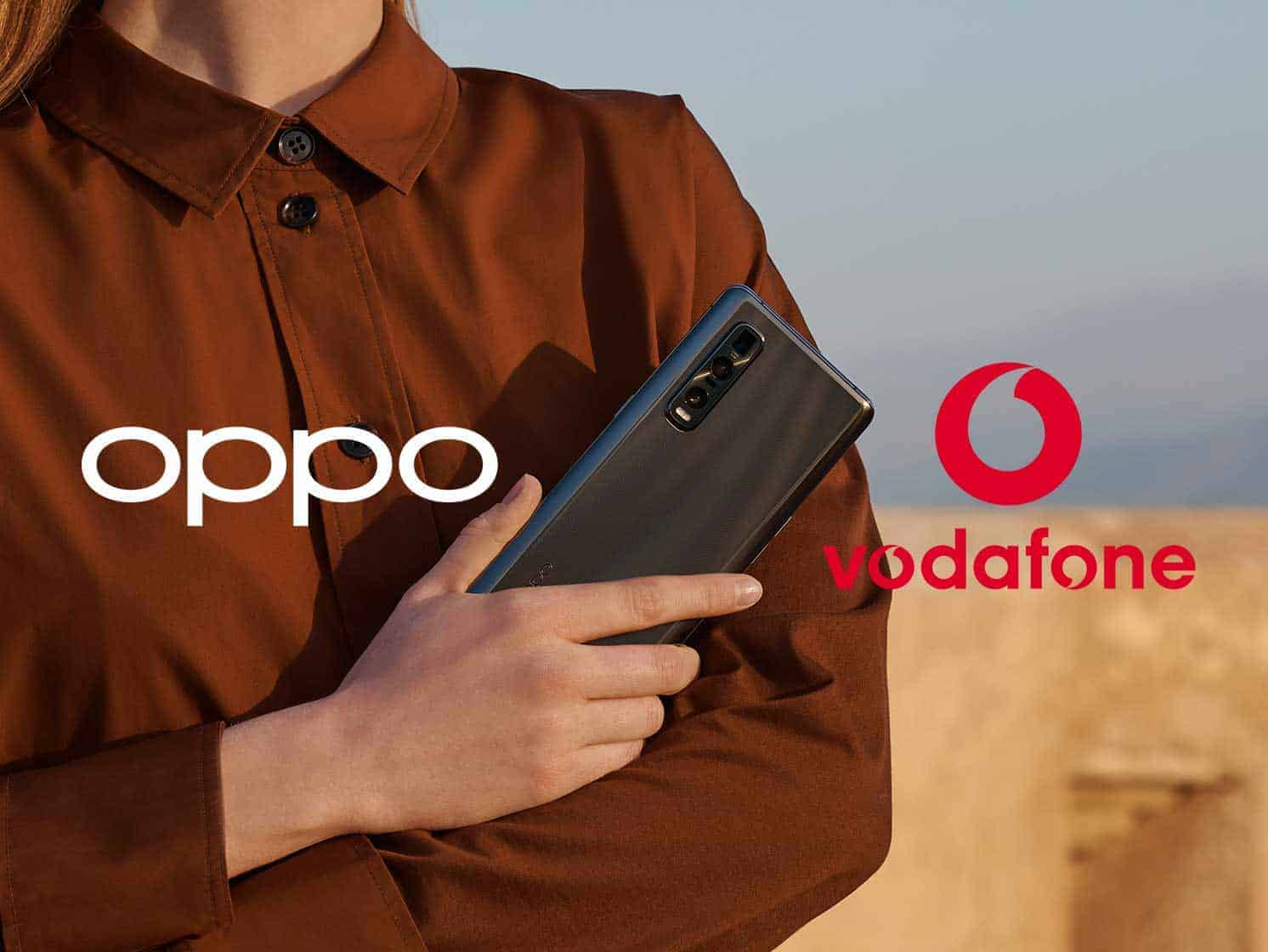 Oppo announces partnership with Vodafone to expand in Europe