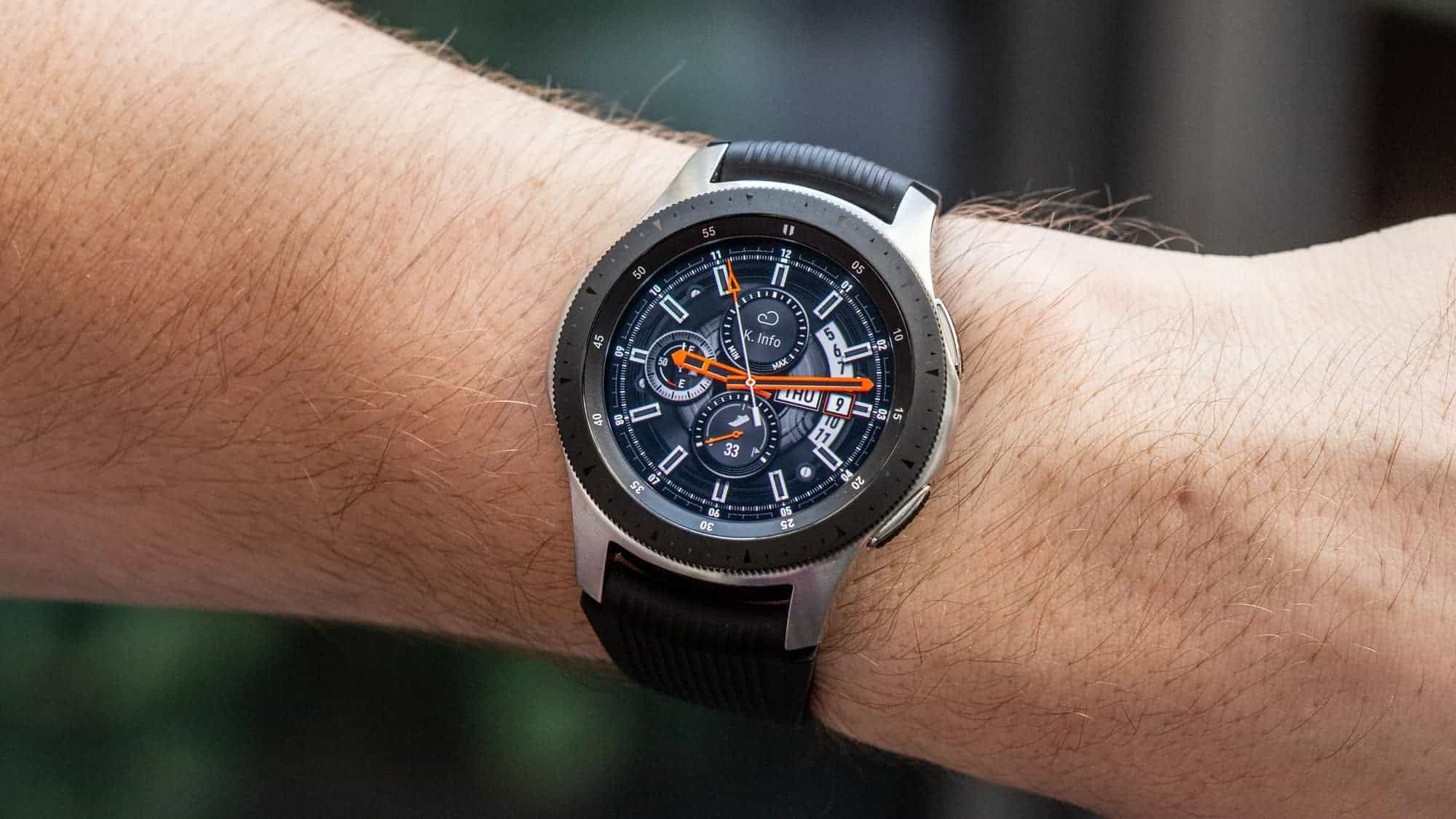 """Do you want to activate the """"raise to wake"""" function on your Galaxy Watch?"""