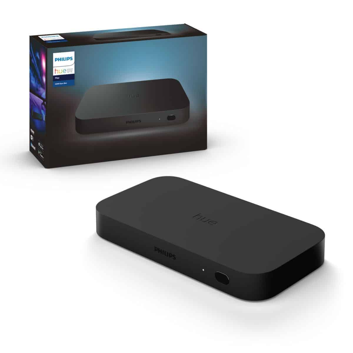 Philips Hue Play HDMI Sync Box creates an immersive entertainment experience ...