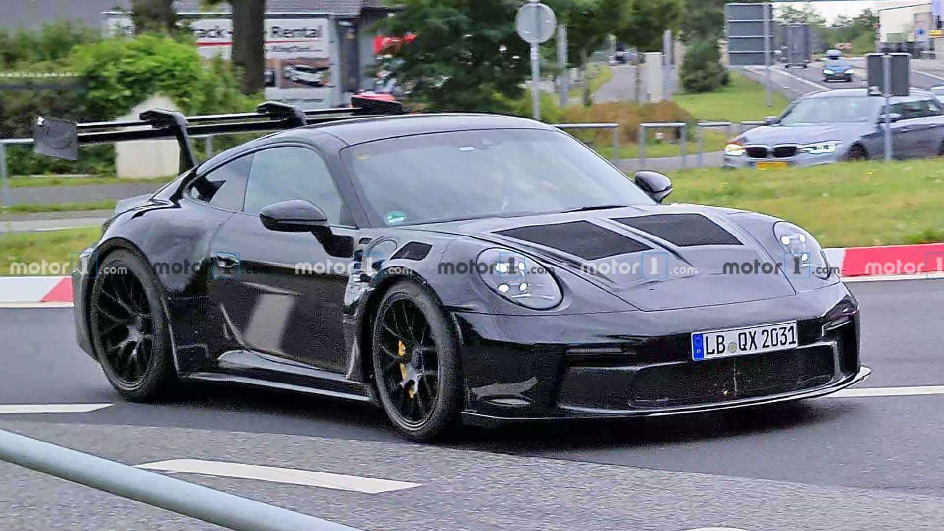 Proximo Porsche 911 Gt3 Rs Visto Na Rua Maistecnologia