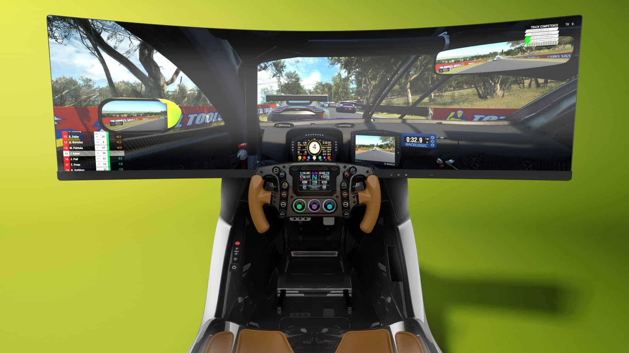 Aston Martin ARM-C01 é o novo simulador de corridas de luxo da marca  britânica | MaisTecnologia