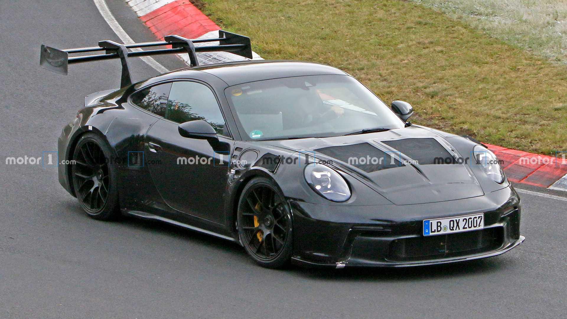 Novo Porsche 911 Gt3 Rs Espiado No Seu Habitat Natural Em Nurburgring Maistecnologia