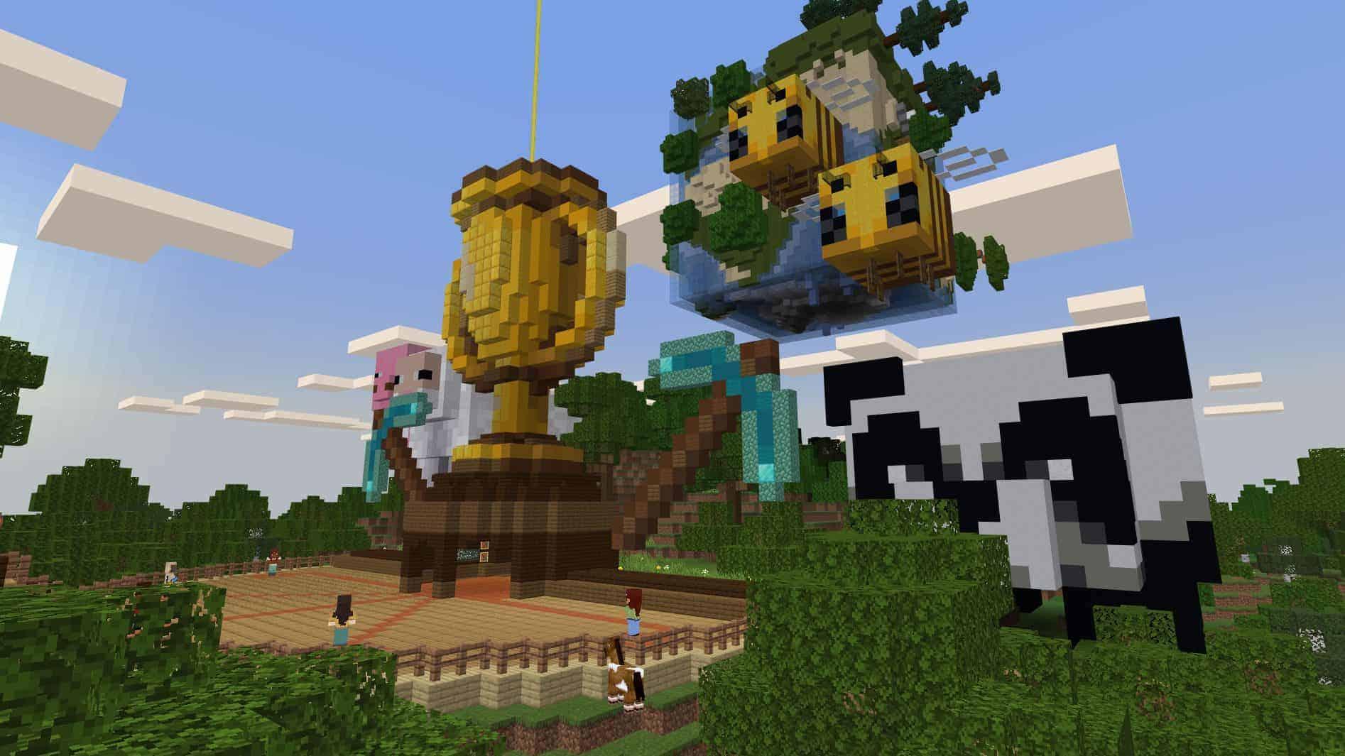 Todas as novidades de Minecraft anunciadas na Minecraft Live 10
