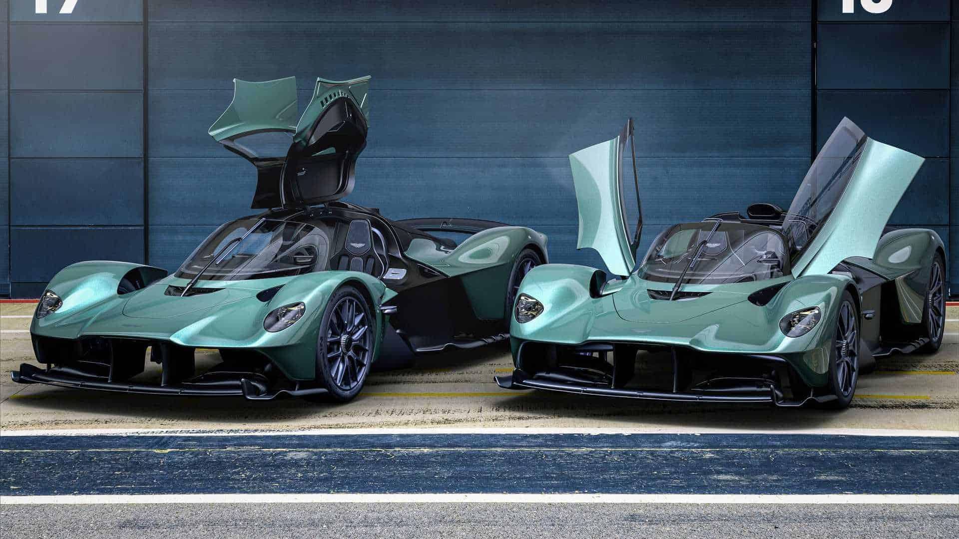 Aston Martin Valkyrie Spider revelado agora